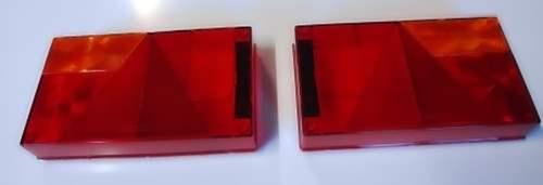 Lichtscheibe für Anhänger Aspöck Multipoint 1 Set Links und Rechts Ersatzglas