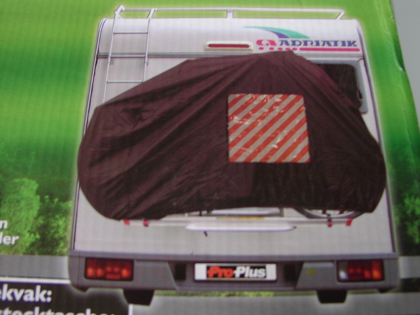fahrradschutzh lle f r wohnwagen wohnmobil abdeckhaube f r. Black Bedroom Furniture Sets. Home Design Ideas