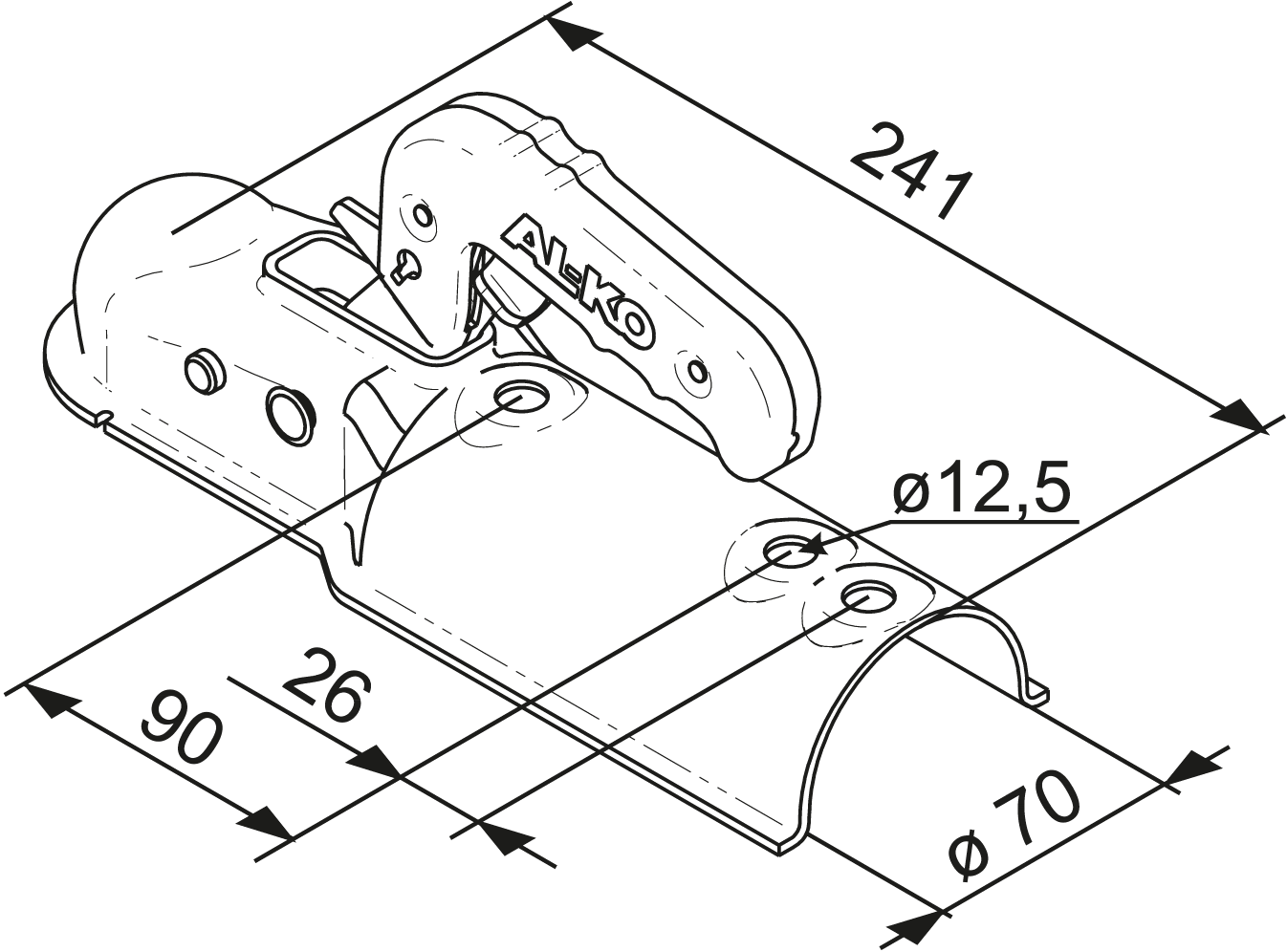 Alko Kupplung Verschleißanzeige : original alko kugelkupplung 750 kg ak 7 ausf c kupplung ~ Kayakingforconservation.com Haus und Dekorationen