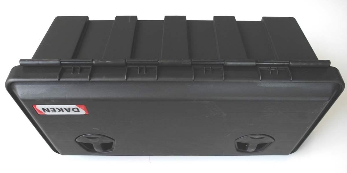 Deichselbox Staukiste V Deichsel Alu Box Riffelblech PKW Anhänger Wohnwagen Rau2