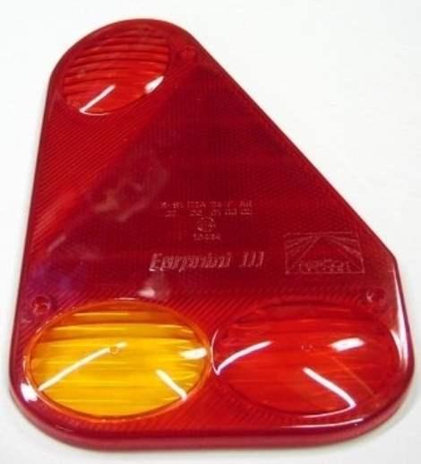 Aspöck Earpoint 1 Lichtscheibe Rechts Ersatzglas Glas mit Rückfahrscheinwerfer
